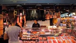 М'ясо в Іспанії