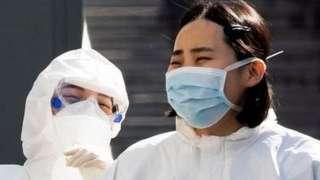दक्षिण कोरियाली स्वास्थ्यकर्मी
