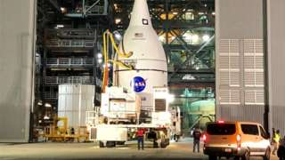 Orion at the VAB