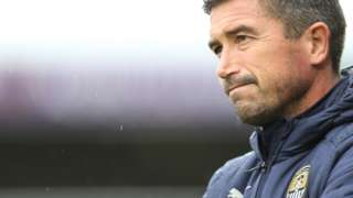 Notts County manager Harry Kewell