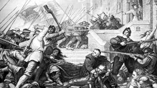 Civil War siege
