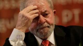 Former Brazilian President Luiz Inacio Lula da Silva