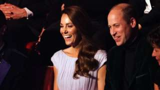 The Duke and Duchess of Cambridge attend the first Earthshot Prize awards ceremony at Alexandra Palace in London.