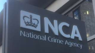 National Crime Agency sign