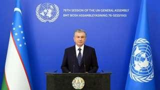 Президент Шавкат Мирзиёевнинг БМТ Бош Ассамблеяси 76 сессиясидаги чиқиши