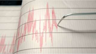 Seismograph recording