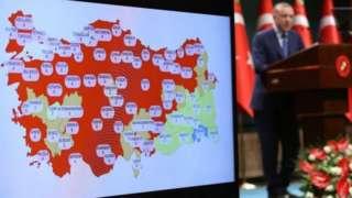 президент Реджеп Тайип Эрдоган басма сөз жыйынында