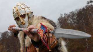Anglo Saxon warrior