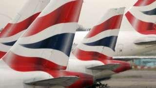 BA aircraft