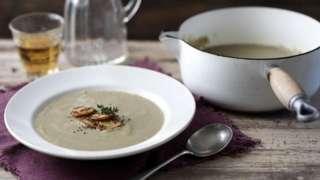 крум-суп з грибами
