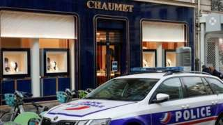 Chaumet store in central Paris