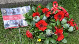 Manx poppy wreath