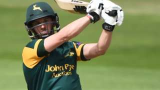 Nottinghamshire captain Steven Mullaney