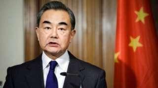 चीन के विदेश मंत्री वांग यी