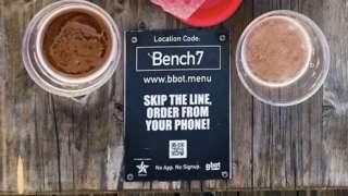 掃描QR碼就能點餐和付款(Credit: DUKE』S)