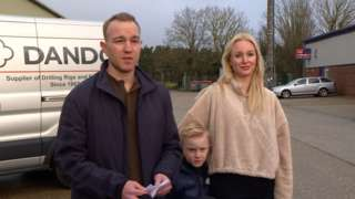 Tom Hayes and family