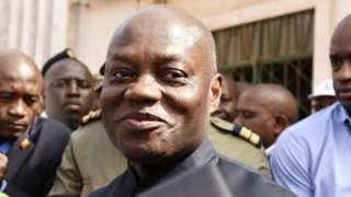 Le président bissau guinéen Jose Mario Vaz lors des législatives en mars 2019