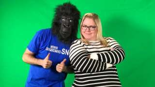 """Southend News Network's """"Chief Reporter"""" and Annie Humphrey"""