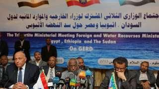 اجتماع وزراء خارجة مصر والسودان واثيوبيا