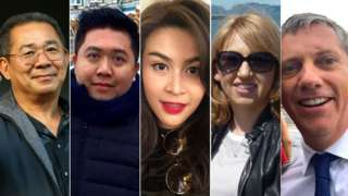 Victims killed in the helicopter crash