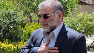 محسن فخری زادہ، ایران،
