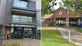 St Edmundsbury District Council and Forest Heath District Council