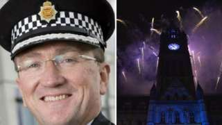 Ian Hopkins and Manchester fireworks display