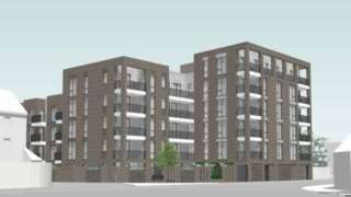 The new flats on the site of Lucy Faithfull House in Oxford city centre