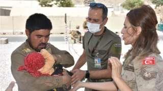 Afganistan'daki Türk askerleri