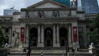 New York Public Library in Manhattan