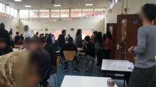 Asylum seekers at Urban House, Wakefield