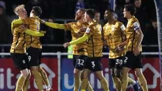 Crewe celebrate