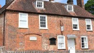 Jane Austen's House in Chawton, Hampshire
