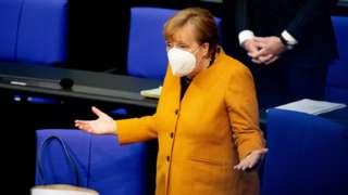 Канцлерг Германии Ангела Меркель