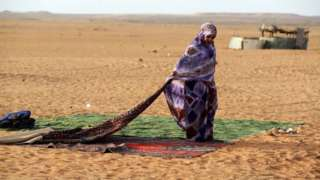 Western Sahara refugee in Algeria