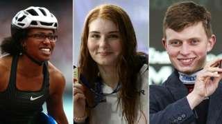 Kare Adenegan, Freya Anderson and James Bowen