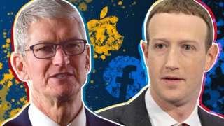 Kişisel bilgilerin gizliliği anlaşmazlığının odağında Apple CEO'su Tim Cook ile Facebook kurucusu Mark Zuckerberg var