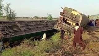 ပါကစ္စတန်၊ ရထားချင်းတိုက်မှု