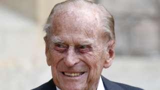 Duke of Edinburgh pictured in 2020