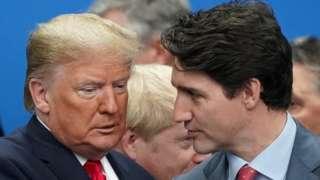 Pertengkaran Trump dan Trudeau membayangi KTT NATO.