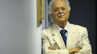 George Bizos pictured in his office on 26 January 2010 in Johannesburg