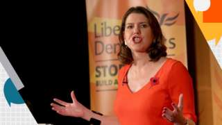 Liberal Democrat leader, Jo Swinson