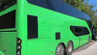 Former UB40 Tour bus