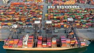 Yantian Port in Guangdong China