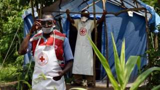 Uganda has Ebola screening points along its border with DR Congo