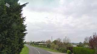 Louth Road in North Cockerington