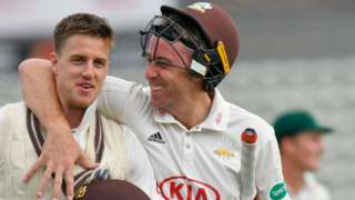 Morne Morkel and Rikki Clarke