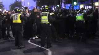 Southampton v Portsmouth match day disorder