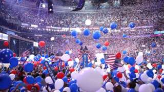 Balloons at the convention