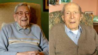 Robert Weighton and Alf Smith